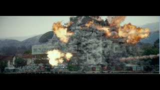 Russian Missile Vs American Destroyer  Hunter Killer Movie Scene  Hd