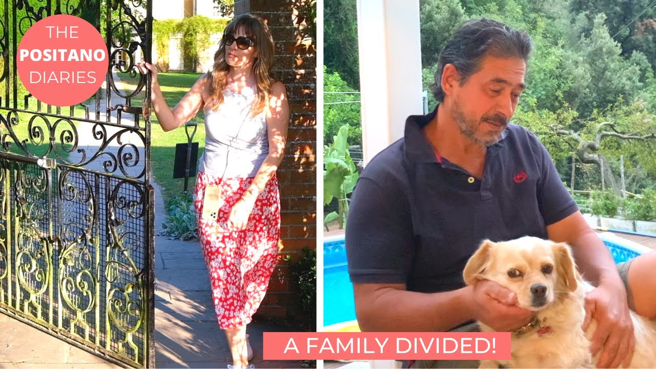 CARLO IS HOME ALONE! ESCAPE TO ENGLAND & MALTA | The Positano Diaries EP 137
