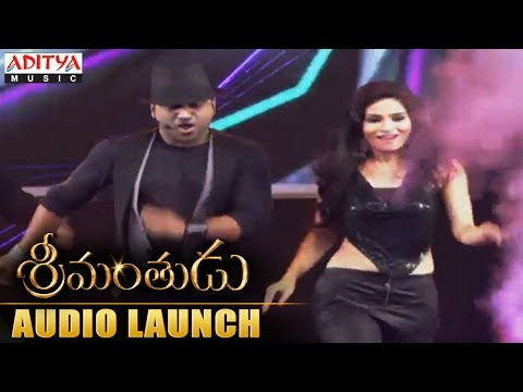 Devi Sri Prasad Charuseela Live Performance At Srimanthudu Audio Launch