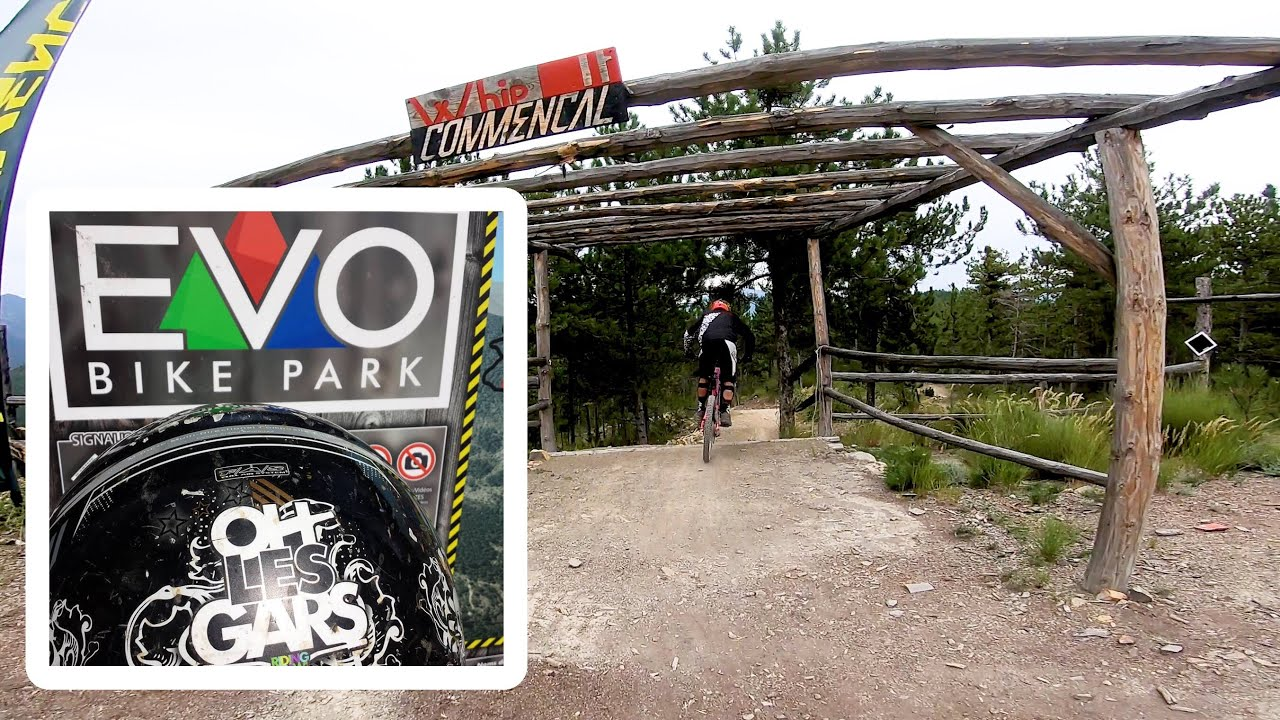 VTT DH evo bike park la whip it
