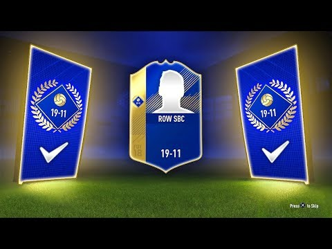 INSANE TOTS PACK! - RoW TRADABLE TOTS SBC! (19-11) - FIFA 18 Ultimate Team