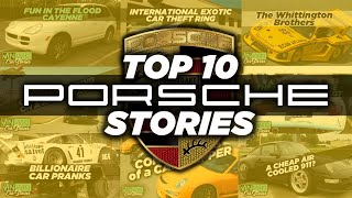 VINwiki's Top 10 Porsche Stories