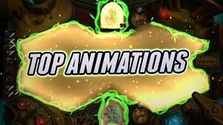 Top 55 Card Animations in Hearthstone | From GvG to Saviors of Uldum