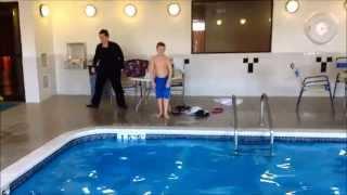 Home Alone 2 Reenactment 2 Plaza Hotel Swimming Pool Scene Youtube