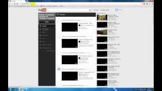 Часть 1 Обучающее видео: Регистрация в YouTube