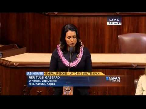 Rep. Tulsi Gabbard on the House Floor about King Kamehameha I Day - June 11, 2015