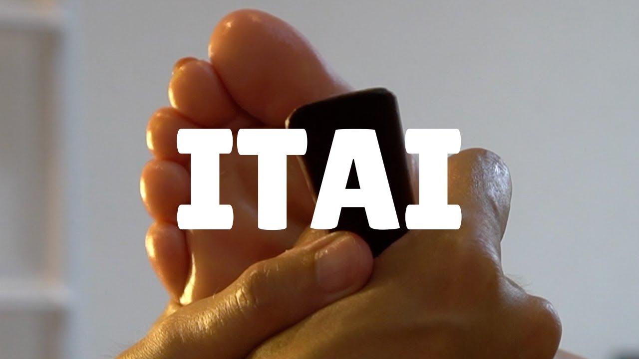 痛い足つぼ | ゴリゴリ好きな女性レベル8.5 カミナリあり [右足]