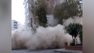 Землетрясение в Измире спровоцировало цунами. Последние подробности