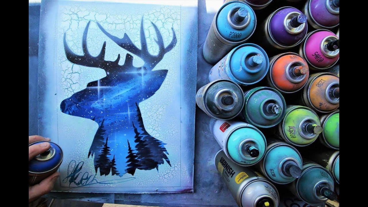 Batman Spray Paint Art For Sale