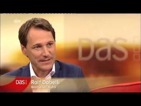 Rolf Dobelli in der ARD-Talkshow Sendung DAS!