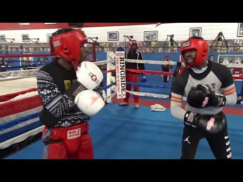 Cincinnati World Class Boxing Sparring 10/6/17