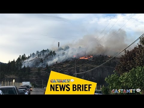 Winery, homes evacuated due to Mission Hill fire