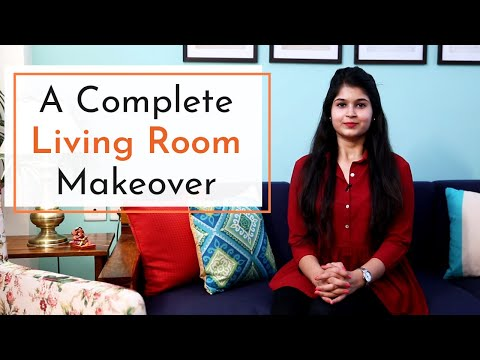 Small Budget Indian Living Room Makeover || Timeless Homes Trendy Makeover