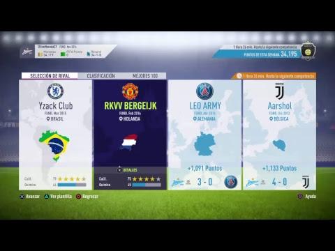 LLEGANDO A ELITE 2 EN SQUAD BATTLES    FIFA 18, COSTA RICA