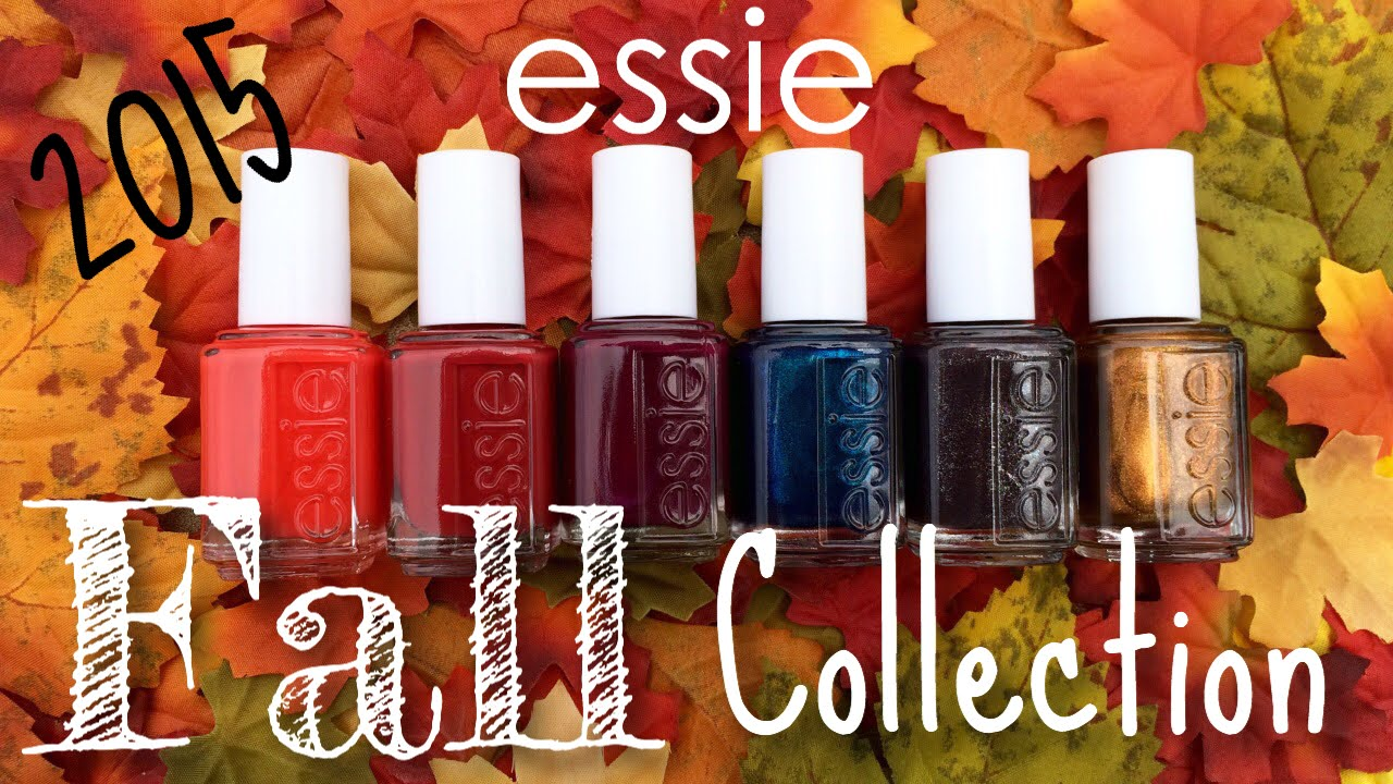 essie Leggy Legend Fall 2015 Collection | The Polished Pursuit - YouTube