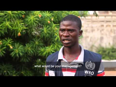 WHO: Austin A. Jallah shares his experience fighting Ebola in Liberia