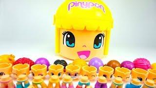 Игрушки Пинипон, распаковываем игровой набор для детей