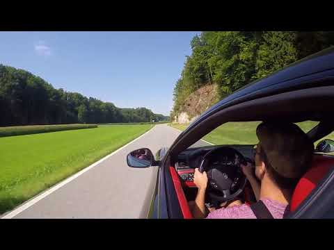 Cruising trough Switzerland in a Maserati