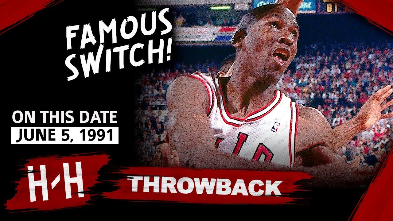 f749c3be0e26 Throwback  Michael Jordan Full Game 2 Highlights vs Lakers 1991 Finals - 33  Pts