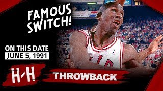 Throwback: Michael Jordan Full Game 2 Highlights vs Lakers 1991 Finals - 33 Pts, Famous Hand Switch!