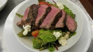 Roast Beef Salad With Goat Cheese & Balsamic Vinaigrette : Delectable Dishes