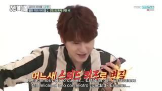 Weekly Idol Ep 278 Kyuhyun (Sub español)Parte 2