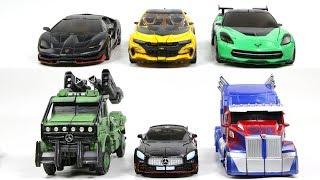 Transformers 5 TLK Repaint Optimus Prime Bumblebee Drift Crosshairs Hotrod Hound Car Robot Toys