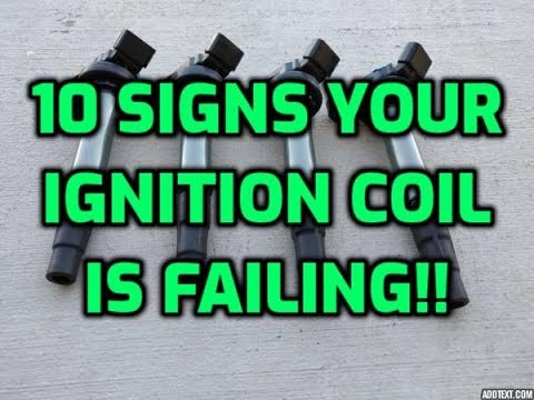 When To Replace Your Ignition Coil And How To Check It's Bad
