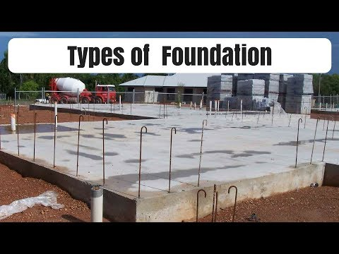 Types of foundation: Types of foundation in buildings