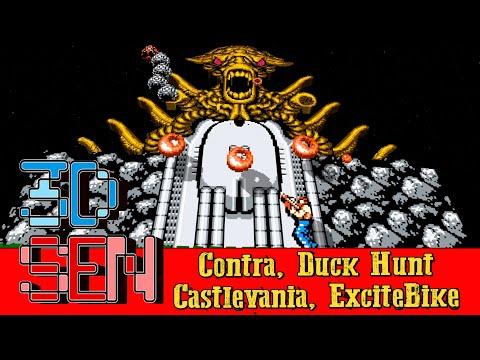 NES 3D Collections #1: Contra, Duck Hunt, Castlevania, ExciteBike |
