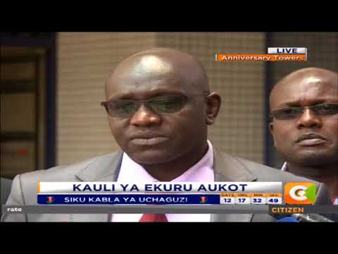 IEBC is Uncertain on who to include in  the race-Ekuru Aukot