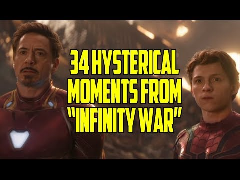34 Hysterical Moments From  Avengers: Infinity War