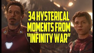 "34 Hysterical Moments From ""Avengers: Infinity War"""