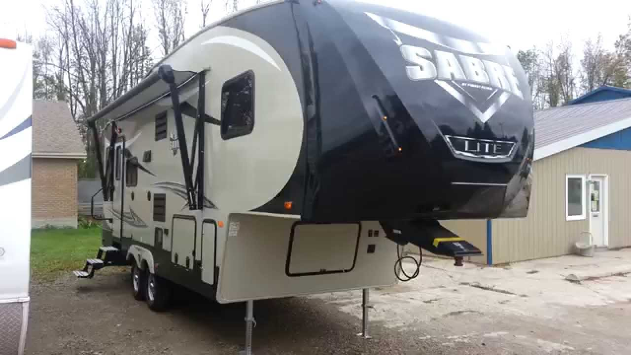 2016 Sabre Lite 25rl 5th Wheel Trailer Camp Out Rv In Stratford