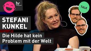Stefani Kunkel über Fleischwurst, Meerschweinchen, ihren Namen und die Hilde