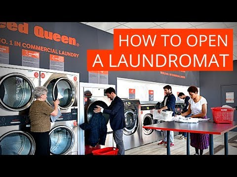 laundromat, Premises location: No. 1 success factor for a self-service laundry