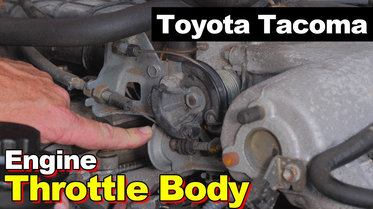 small resolution of 2004 toyota tacoma throttle body idle problem iac