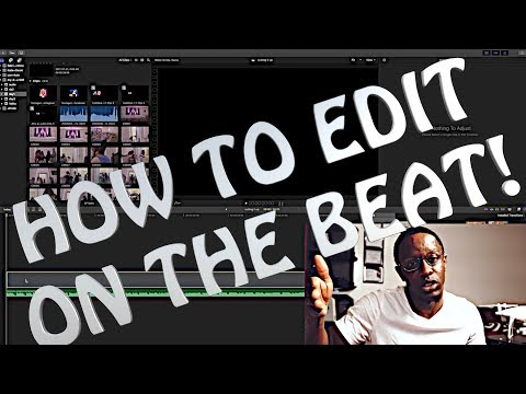 HOW TO: Edit your footage to the beat! FINAL CUT PRO X
