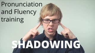 English Speaking Practice | How to improve your English Speaking and Fluency: SHADOWING thumbnail