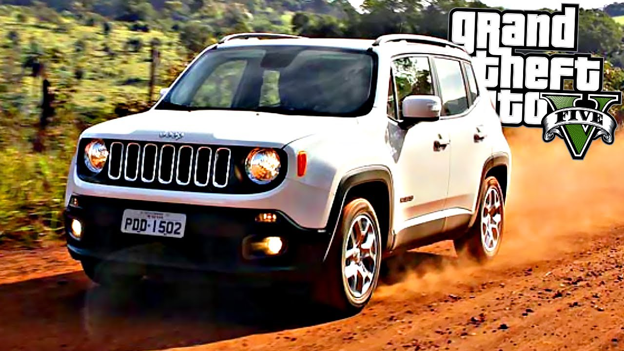 FUGA DE JEEP RENEGADE - GRAND THEFT AUTO V - GTA V MODS - Force Games