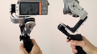 "DIY ""Traveller"" gimbal -  compact and lightweight"