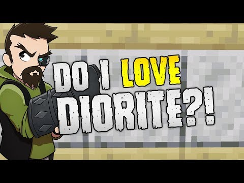 DO I LOVE DIORITE?!   Minecraft Vanilla Texture Overhaul!
