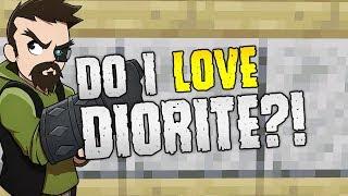 DO I LOVE DIORITE?! | Minecraft Vanilla Texture Overhaul!