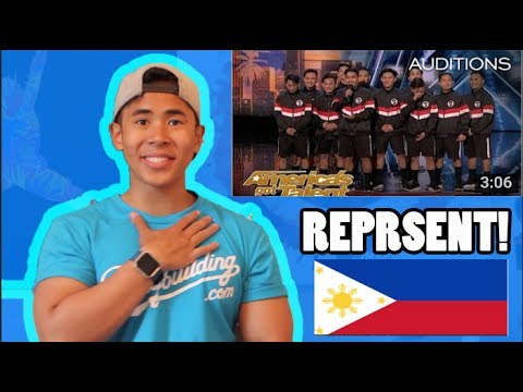(FILIPINO REACTION) Junior New System: All Male Filipino Dance Group Slay AGT 2018