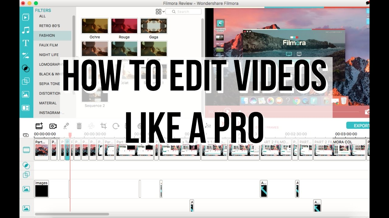 How to edit youtube videos like a pro with filmora editing how to edit youtube videos like a pro with filmora editing tutorial ccuart Image collections