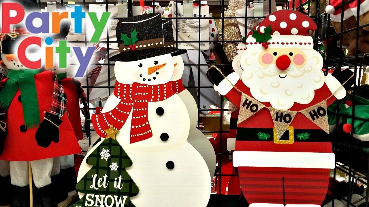 shop with me christmas party favors decorations party city 2017 youtube. Black Bedroom Furniture Sets. Home Design Ideas