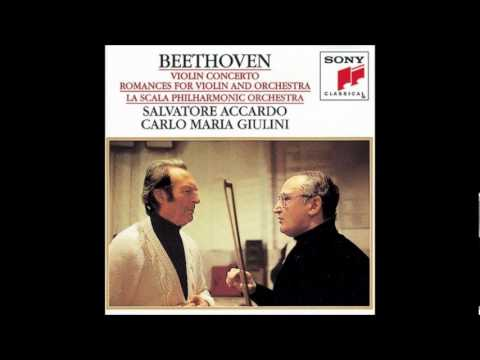 Concerto for Violin and Orchestra in D Major, Op.61/II. Larghetto