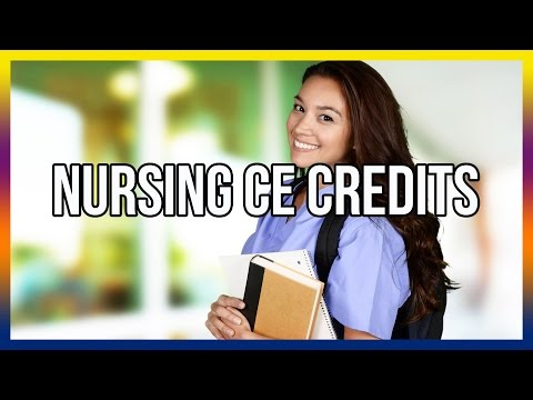 Nursing CE Credits - Get Free Access Here