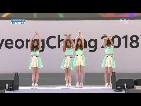 [HD] 150516 Girl's Day - Darling + Something @ 2018 Pyeongchang Winter Olympics G-1000