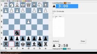 Шахматы блиц на ICC chessclub.com#3